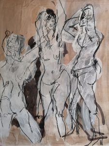 Life Drawing by friederike